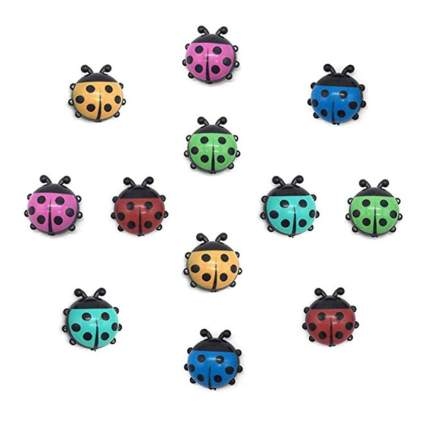 ladybug kitchen magnets