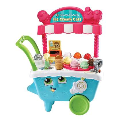 Toddler's ice cream cart toy