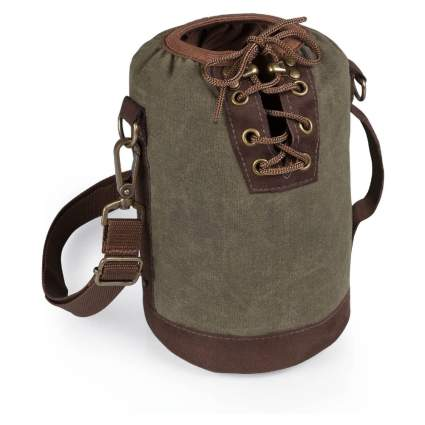 Legacy Canvas Lace-Up Growler Tote