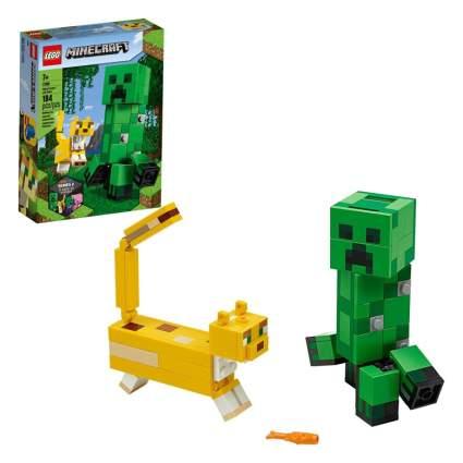 LEGO Minecraft Creeper BigFig and Ocelot