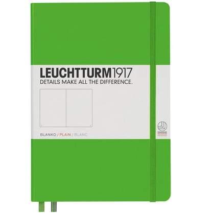 Leuchtturm Hardcover Medium A5 Plain Notebook