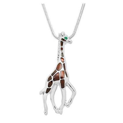 Simple giraffe necklace