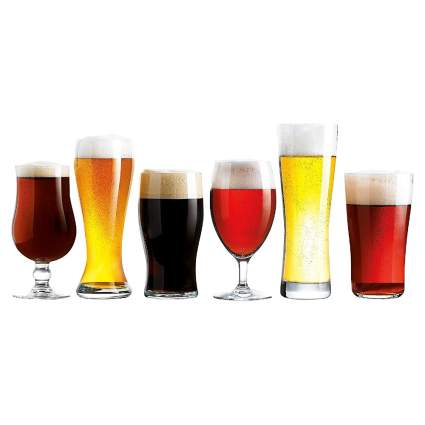 Luminarc Assorted Craft Beer Glasses Six Pack