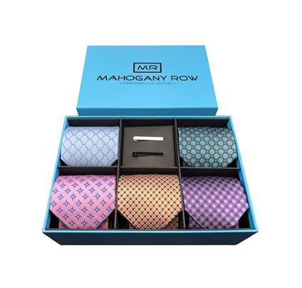 mahogany row ties