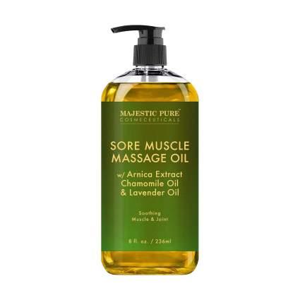 majestic pure massage oil
