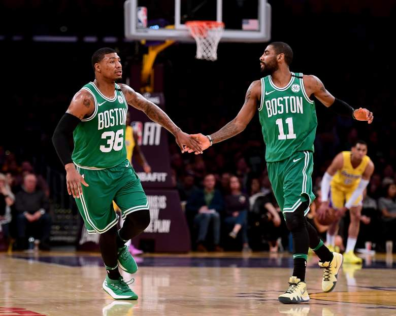 Marcus Smart Kyrie Irving