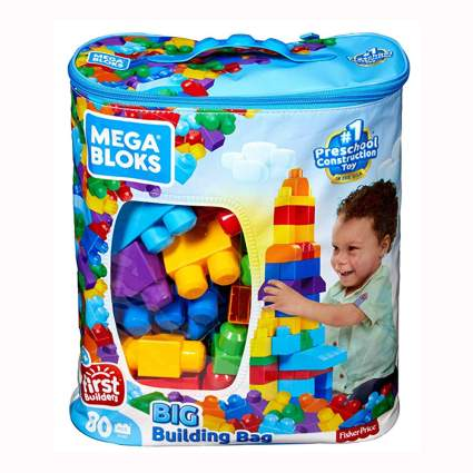 big bag of building blocks