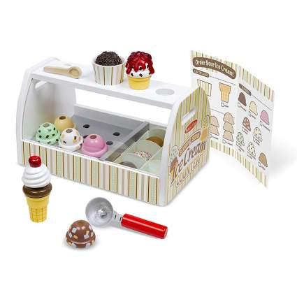 Play ice cream counter