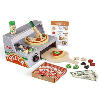 Play pizza toy set