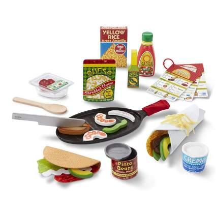 play mexian food set