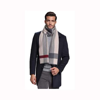 men's australian wool scarf