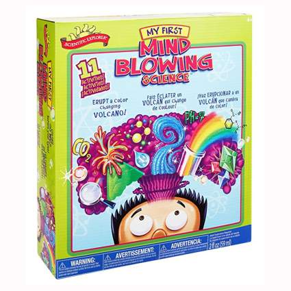 Mind blowing science kit for kids