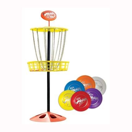 mini frisbee golf set