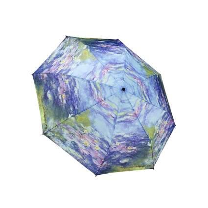 monet water lilies print umbrella