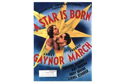 1937 'A Star Is Born' Movie Poster