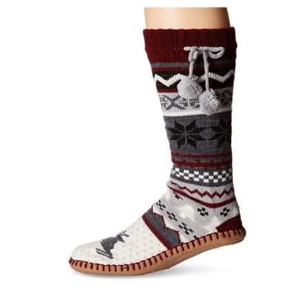 Muk Luk Sock Slippers