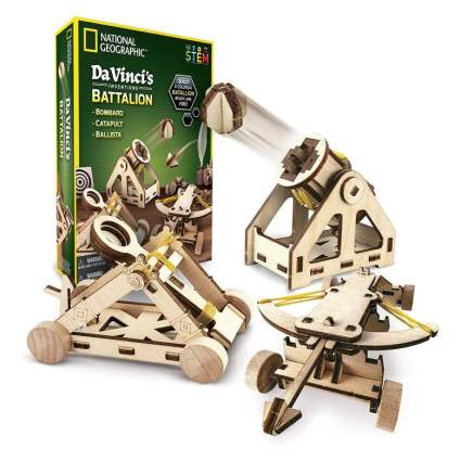 NATIONAL GEOGRAPHIC - Da Vinci's DIY Science and Engineering Construction Kit