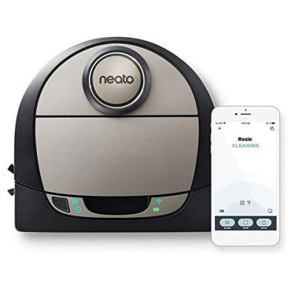 Neato robot vacuum with smartphone