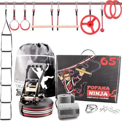 ninja warrior line for kids