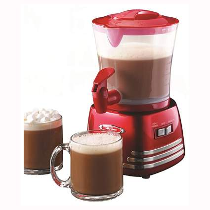 red hot chocolate maker