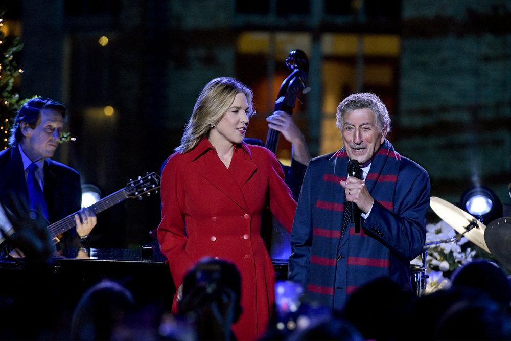 Tony Bennett Rockefeller Christmas Tree Lighting 2018