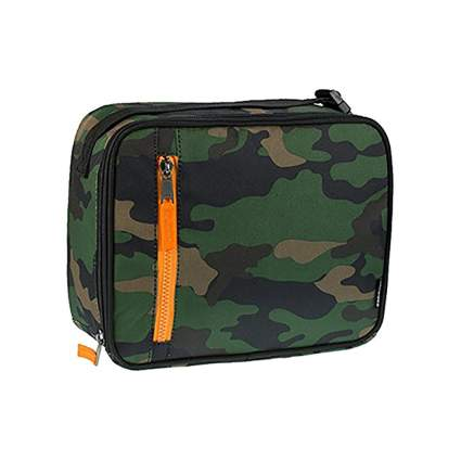 camo print freezable lunch bag