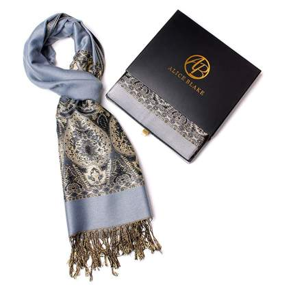 pashmina scarf in a gift box
