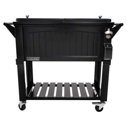 Permasteel 80-Quart Portable Rolling Patio Cooler