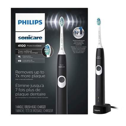 Black Philips Sonicare toothrbush