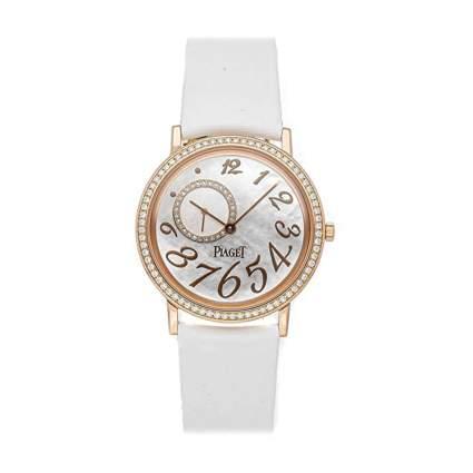 piaget diamond and gold women's watch