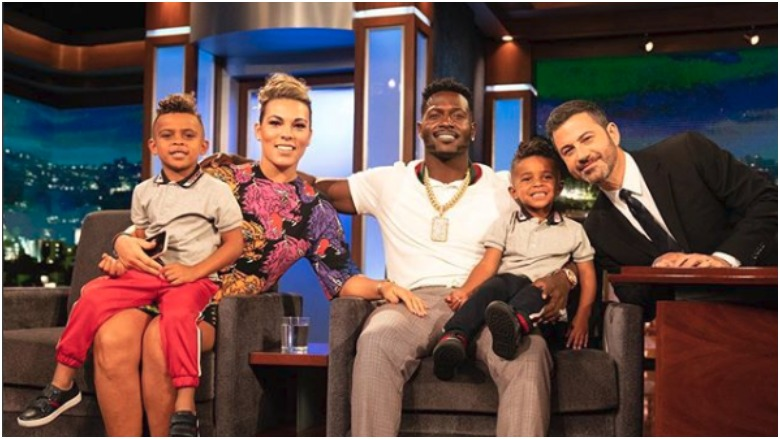 Antonio Brown S Kids How Many Children Does He Have Heavy Com