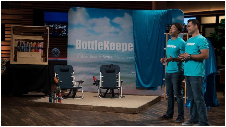 Bottlekeeper on shark tank, keep beers cool shark tank product