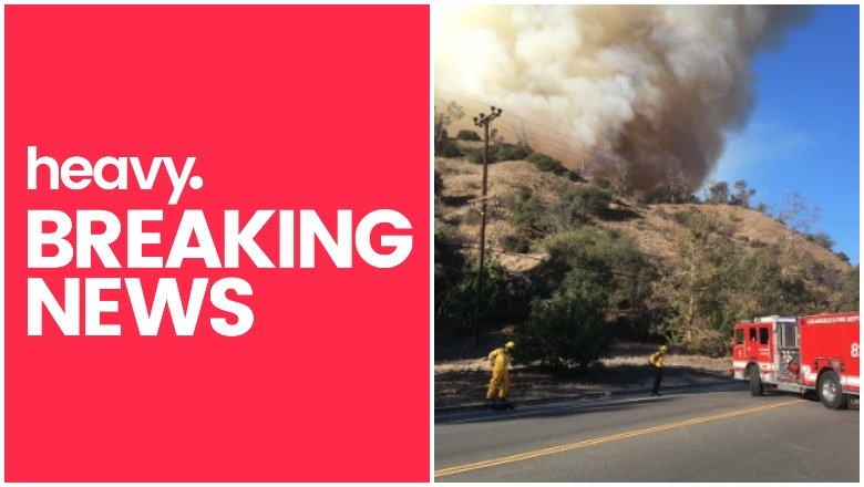 Griffith Park Fire near LA Zoo
