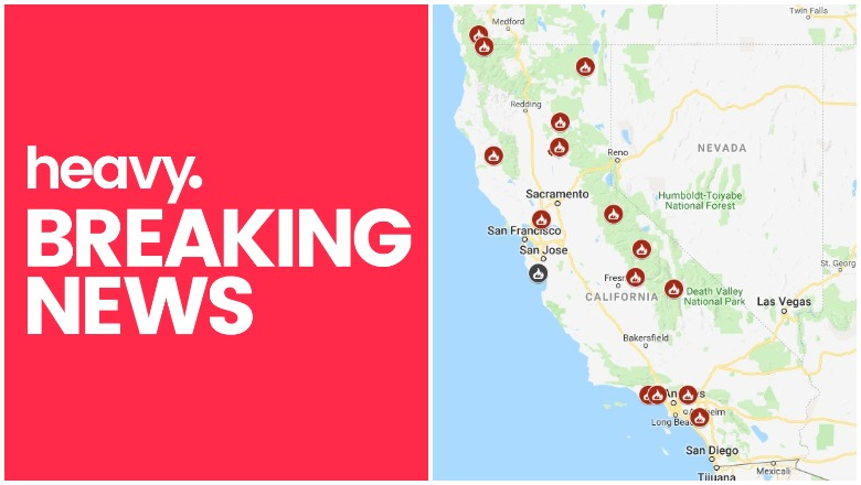 California Fire Map Track Fires Near Me Right Now Nov 12