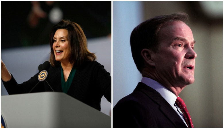 Whitmer Schuette election results