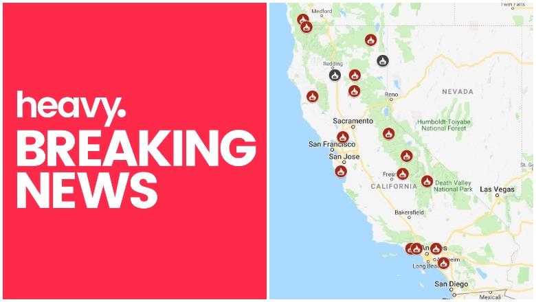California Fires Near Me