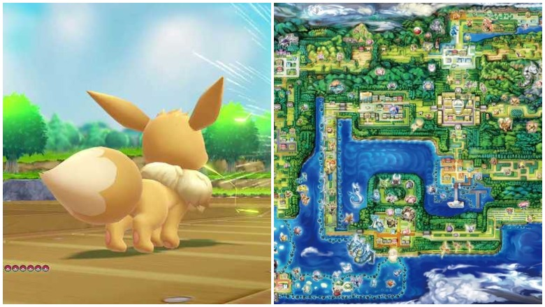 Pokemon Let's Go maps