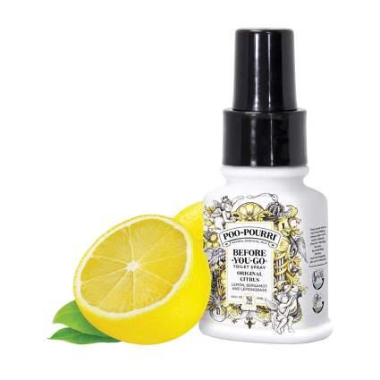 citrus before you poop spray