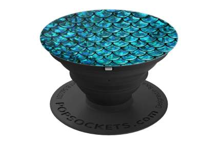 Mermaid scale popsocket phone stand