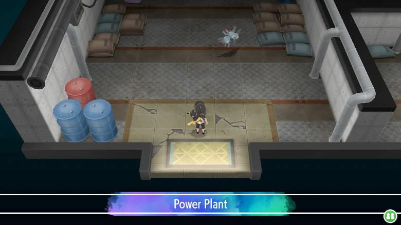 Power Plant Pokemon Let's Go