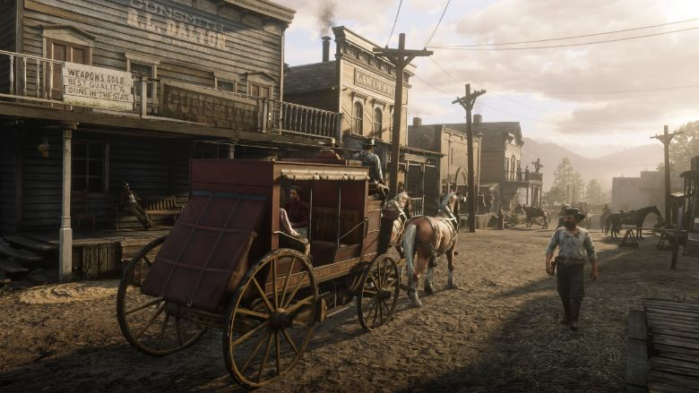 Red Dead Redemption 2 Bath