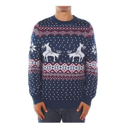 boinking reindeer sweater