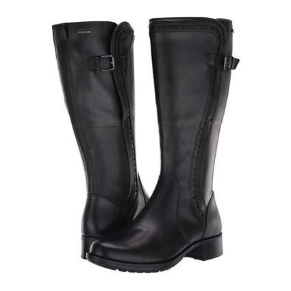 black women's tall boots