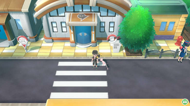 Saffron City Gym Pokemon Let's Go