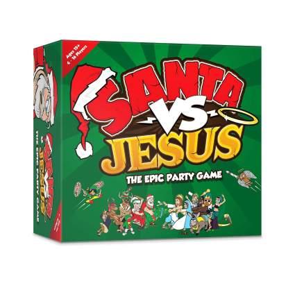 santa vs jesus adult board game