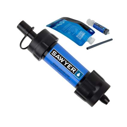 sawyer products mini water filter