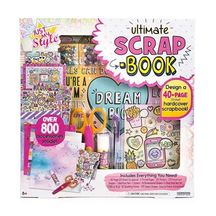 scrapbook kit for kids