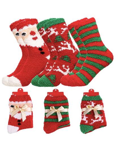 womens holiday socks