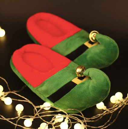 Elf Christmas Slippers
