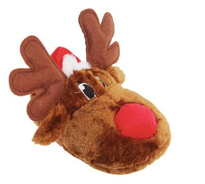 unisex reindeer slippers